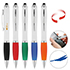 Twist ball-point pen for touchscreens